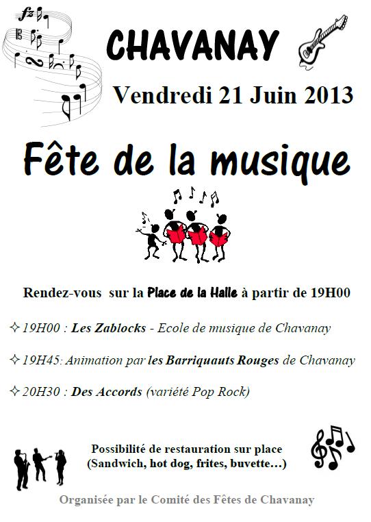 Fête de la musique 2013 - Chavanay