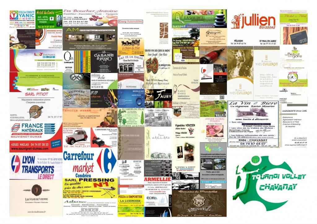 Panneau annonceurs tournoi 2014